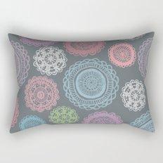 Doily Doodles Rectangular Pillow