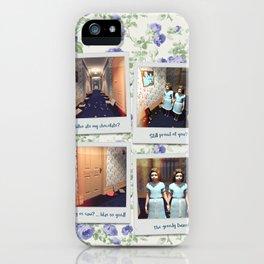 Twins & Chocolate iPhone Case