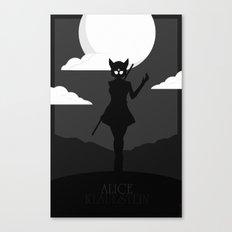 Alice Klauestein Canvas Print