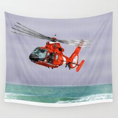 DOLPHIN RESCUE Wall Tapestry
