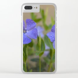 Spring flower Clear iPhone Case
