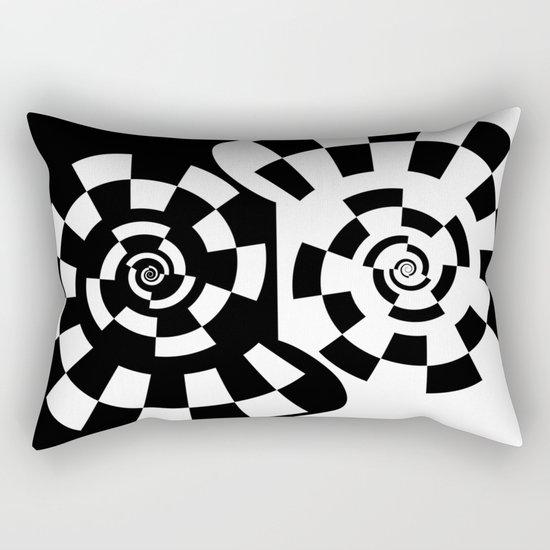 Spiral Yin & Yang Rectangular Pillow