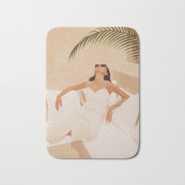 Summer Heat Bath Mat
