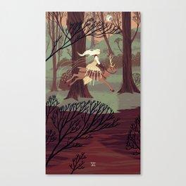 6 of Swords Canvas Print
