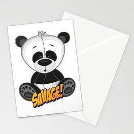 Panda Cute Kawaii Cartoon Stationery Cards