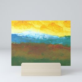 Abstract Landcape Mini Art Print
