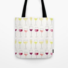 Wine Collection Tote Bag