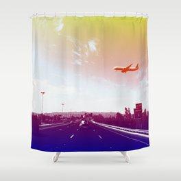 Sky Harbor II Shower Curtain