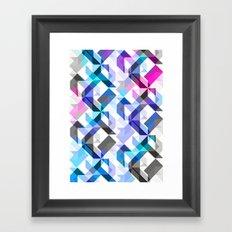 Aztec Geometric I Framed Art Print