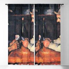 Paul Cézanne - The Card Players Blackout Curtain