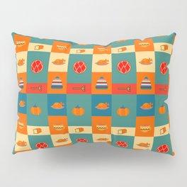 Dinner pattern Pillow Sham