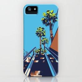Sunny Escalator iPhone Case