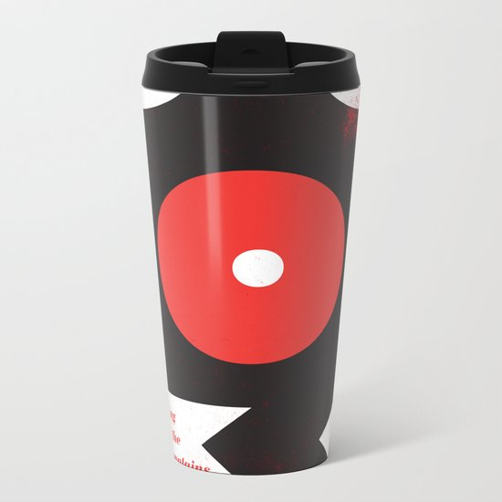 King of the Mountains, Abstract 1 Metal Travel Mug