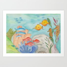 The Southern Sea Art Print