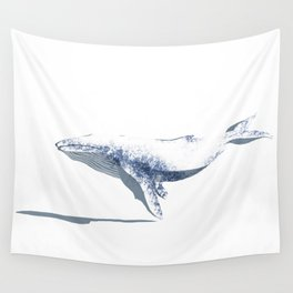 white whale Wall Tapestry