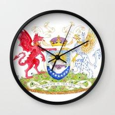 February II Wall Clock