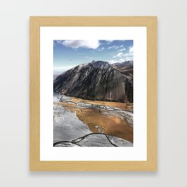 New Zealand's beauty *Aoraki/MtCook 7 Framed Art Print