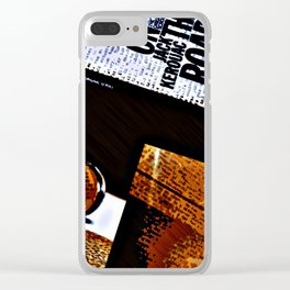 Paradise Road To Sal Made Jack Clear iPhone Case
