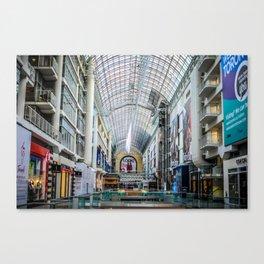 Toronto Eaton Centre Canvas Print