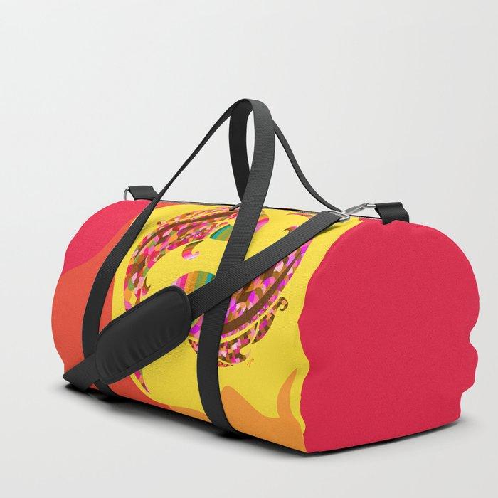 Pisces Neon Duffle Bag
