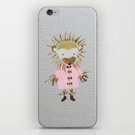 Hedgehog Forest Friends Baby Animals iPhone Skin