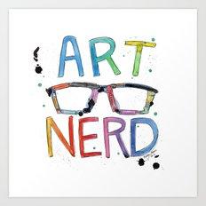 ART NERD Art Print