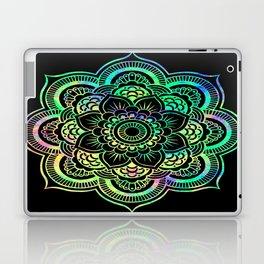 Neon Psychedelic Mandala Laptop & iPad Skin