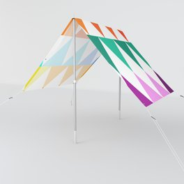 Triangles of Color Sun Shade