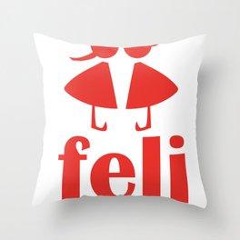 feli Throw Pillow