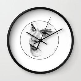 Captivating Eyes Wall Clock