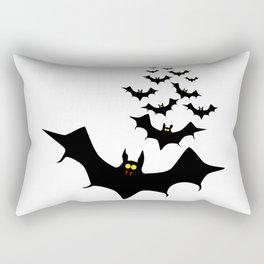 Vampire Bats Rectangular Pillow