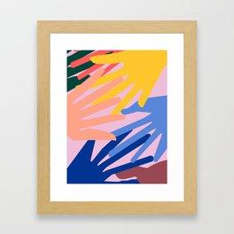 Global Hands 2 Framed Art Print