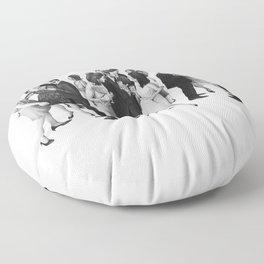 the cold war Floor Pillow