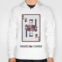 house of cards Hoodies featuring House of cards Playing card  by Lewys Williams