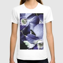 Navy Blue Orchid T-shirt