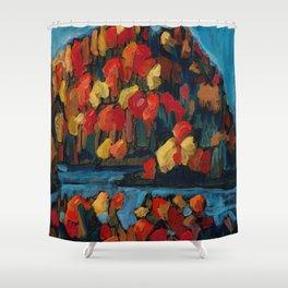 Autumn Foliage / Dennis Weber of ShreddyStudio Shower Curtain