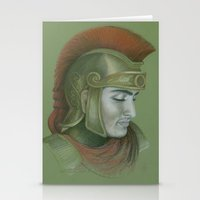 soldier Stationery Cards featuring Soldier by Jane Stradwick