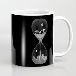 THE EVOLUTION OF THE WORLD b/w Coffee Mug