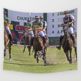 Polo in Color Wall Tapestry