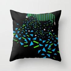 Geometric Zebra Throw Pillow