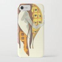gustav klimt iPhone & iPod Cases featuring gustav klimt by Lily Snodgrass