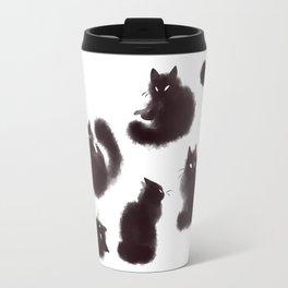 Bunch of cats Travel Mug