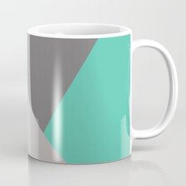 Geometric Pattern turquoise/grey Coffee Mug