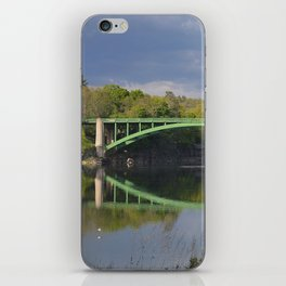 Summer Storm Clouds - Delaware River iPhone Skin