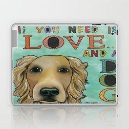 Love Dog Laptop & iPad Skin