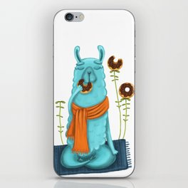 Delicious Meditation iPhone Skin