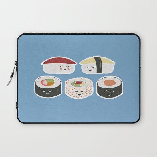 Happy Sushi Laptop Sleeve