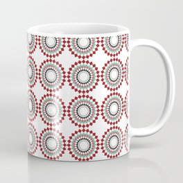 Coca Cola inspired pattern Coffee Mug