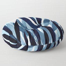 Blue breeze I Floor Pillow
