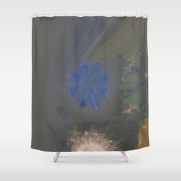 Pajama Constitution Flower  ID:16165-101448-73620 Shower Curtain